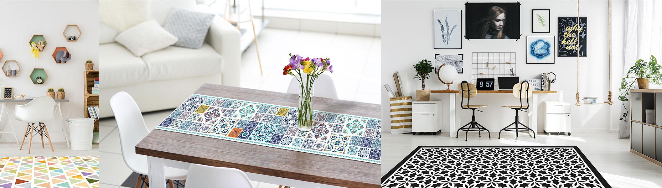 שטיחי pvc לעיצוב הבית