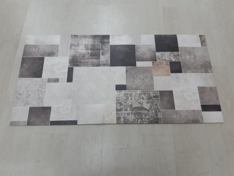 שטיח פי וי סי למטבח דגם קרמיקה בהנחה