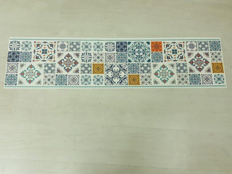 ראנר לשולחן דגם טורקיז אותנטי בהנחה