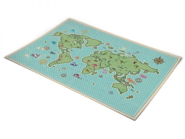 שטיחי פי וי סי לחדרי ילדים