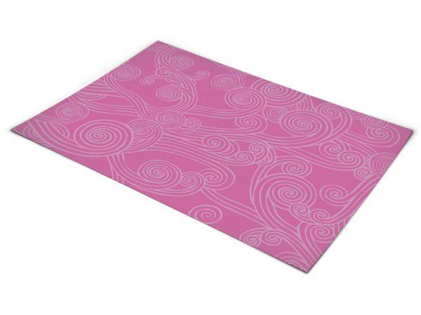 שטיח פי וי סי לחדר ילדים דגם ברבי
