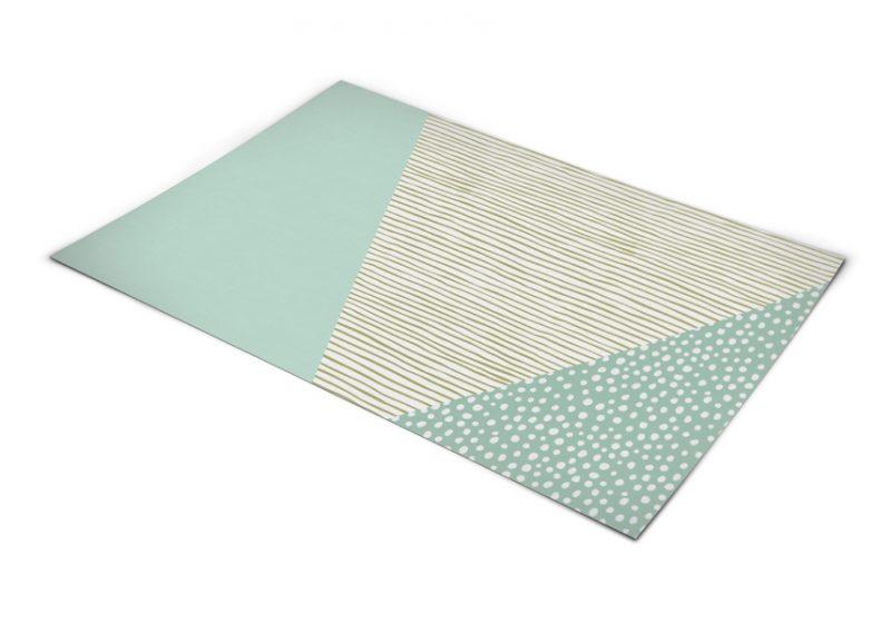 שטיח פי וי סי למטבח דגם נחל