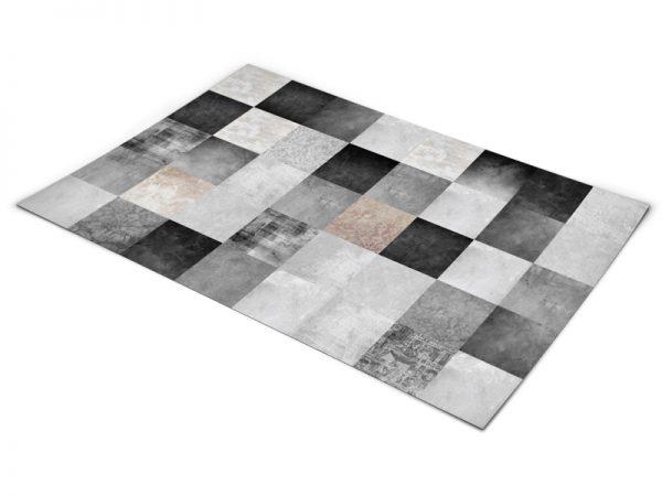 שטיח פי וי סי לסלון דגם קרמיקה