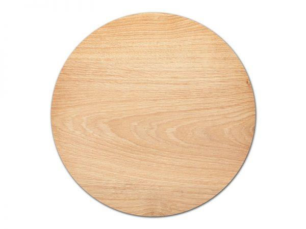 מפה PVC עגולה דגם עץ טבעי