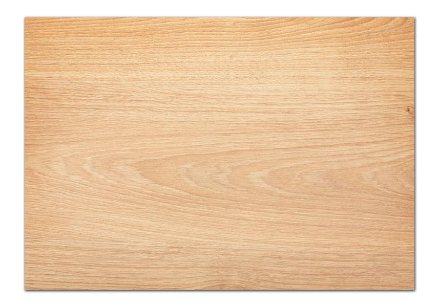 מפה פי וי סי דגם עץ טבעי