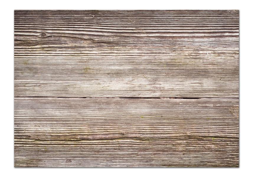 מפה פי וי סי דגם עץ מעורב