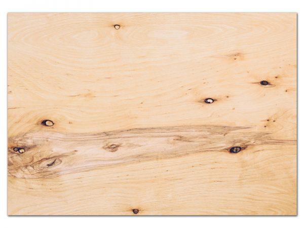 מפה פי וי סי דגם עץ מבוקע