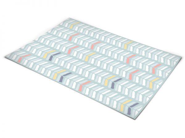 שטיח פי וי סי למטבח דגם חצים בתנועה