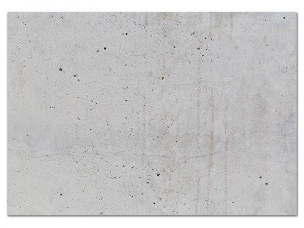 מפה פי וי סי מלבנית דגם בטון