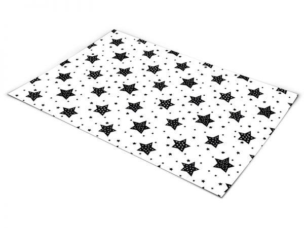 שטיח פי וי סי לחדר ילדים דגם כוכבים
