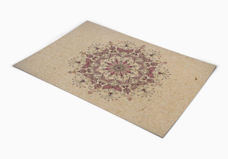 שטיח פי וי סי למטבח דגם מנדלה