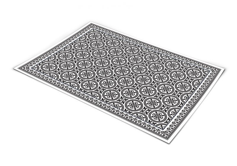 שטיח פי וי סי למטבח דגם אריחים 265 קולקציה חדשה