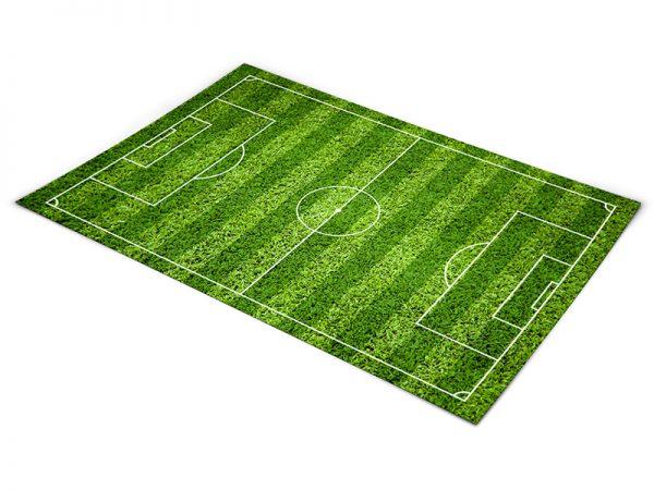 שטיח פי וי סי לחדר ילדים דגם כדורגל