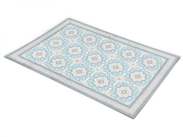 שטיח פי וי סי לסלון דגם כפרי