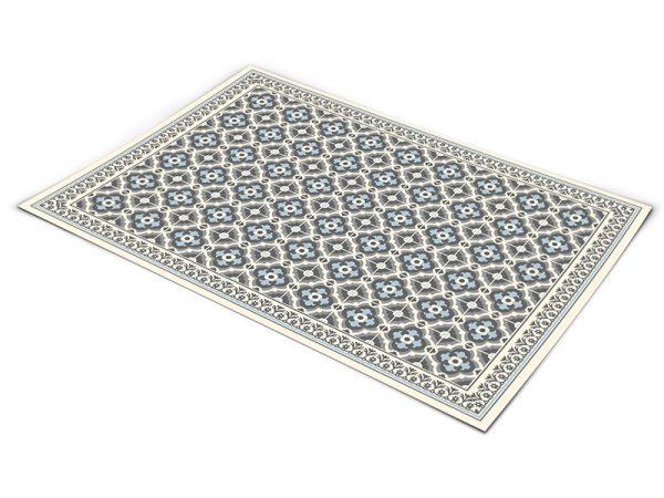 שטיח פי וי סי לסלון דגם כפרי 1