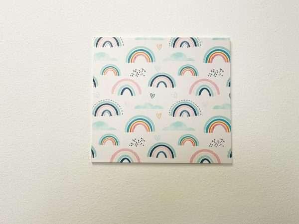 תמונת קיר לחדר ילדים דגם RAINBOW