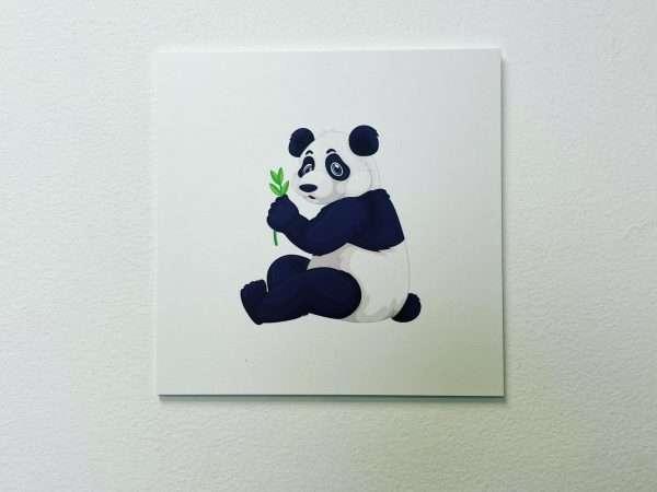 תמונת קיר לחדר ילדים דגם פנדה