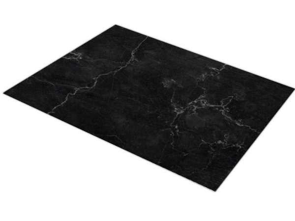 שטיח פי וי סי למטבח דגם שיש כהה